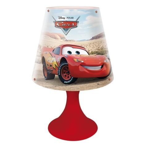 87163 Dětská stolní lampa CARS 1xG24q/10W