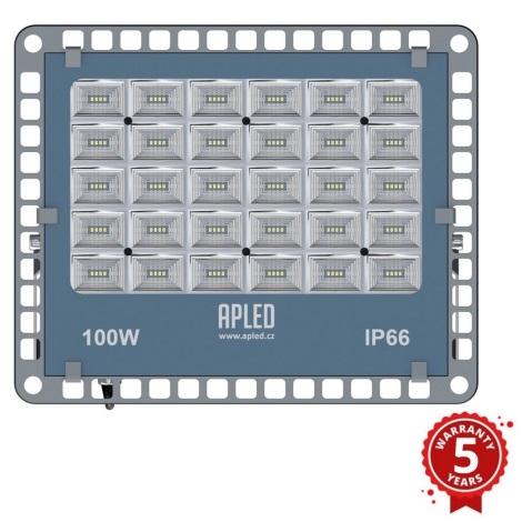 APLED - LED Venkovní reflektor PRO LED/100W/230V IP66 10000lm 6000K