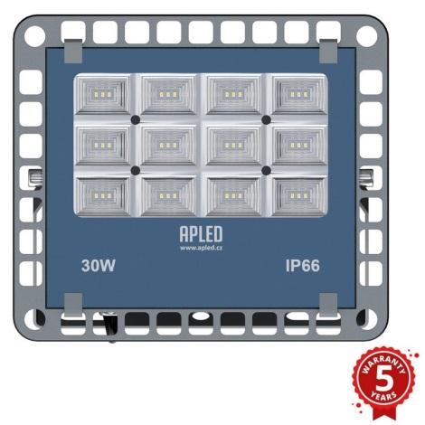 APLED - LED Venkovní reflektor PRO LED/30W/230V  IP66 3000lm 6000K