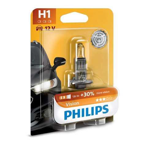 Autožárovka Philips VISION 12258PRB1 H1 P14,5s/55W/12V