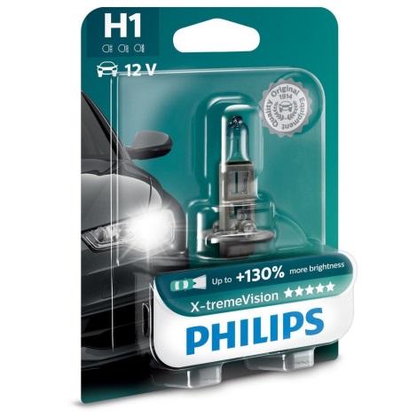 Autožárovka Philips X-TREME VISION 12258XVB1 H1 H1 P14,5s/55W/12V