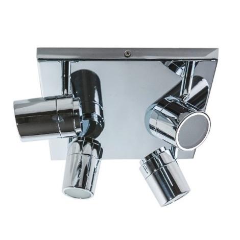 Azzardo AZ2557 - Koupelnové bodové svítidlo NOEMIE 4xGU10/35W/230V IP44