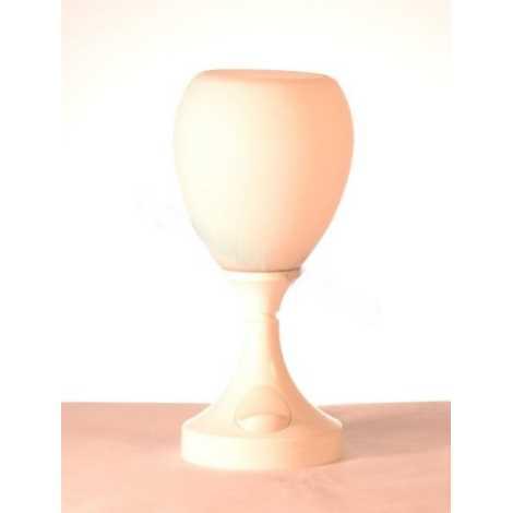 BAZAR - Stolní lampa  1xE14/40W bílá