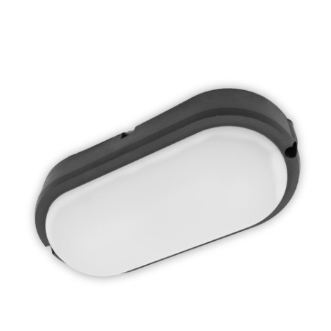 Brilagi - LED Stropní průmyslové svítidlo SIMA LED/12W/230V IP65 černá
