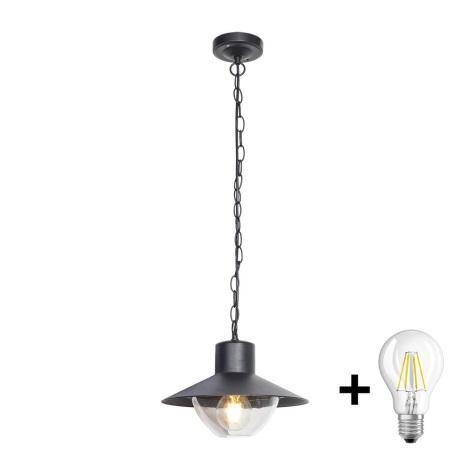 Brilagi - LED Venkovní závěsné svítidlo VEERLE 1xE27/8W/230V IP44