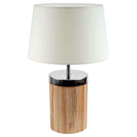 Brilagi - Stolní lampa FERNI 1xE27/40W/230V krémová