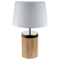 Brilagi - Stolní lampa FERNI 1xE27/40W/230V šedá
