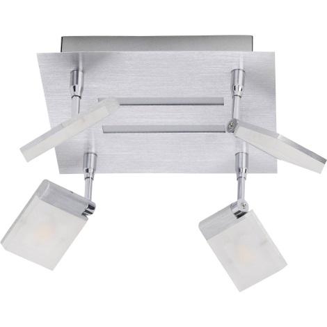 Brilliant - LED Bodové svítidlo PLAXICO 4xLED/6W/230V