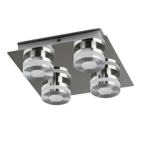 De Markt - LED Stropní svítidlo TECHNO 4xLED/5W/230V