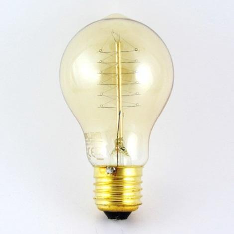 Dekorační stmívatelná žárovka VINTAGE A19 E27/40W/230V