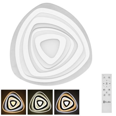 Ecolite WALP03-60W/LED - LED Stmívatelné stropní svítidlo VELA LED/60W/230V + dálkové ovládání
