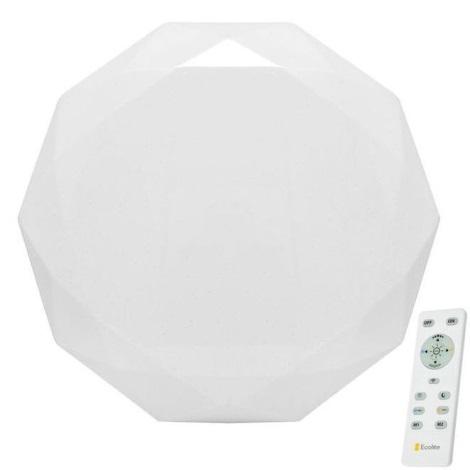 Ecolite WZSD-25W/LED - LED Stmívatelné stropní svítidlo DIAMANT LED/25W/230V + dálkové ovládání