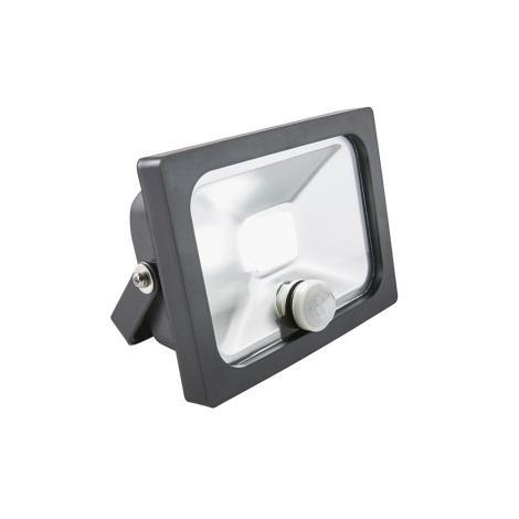 Eglo 18123 - LED Reflektor se senzorem MANTA LED/10W/230V IP65 černá