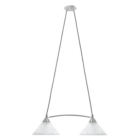 EGLO 27047 - Závěsné svítidlo CAMILA 2xE27/60W