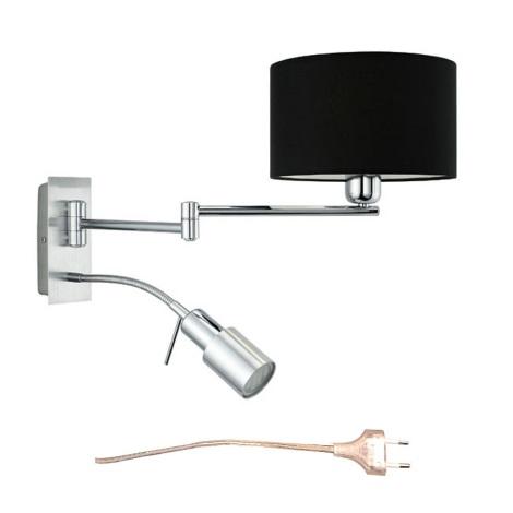 EGLO 27578 - Nástěnné svítidlo HALVA 1xE27/60W, 1xGU10/9W