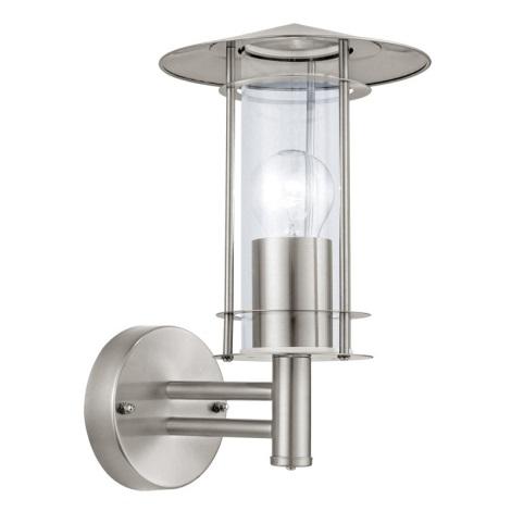 EGLO 30973 - Venkovní nástěnné svítidlo LISIO 1xE27/60W/230V