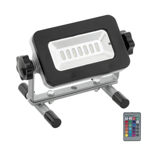 Eglo 32557 - LED RGB Reflektor PIERA LED/3W/230V IP44 + dálkové ovládání