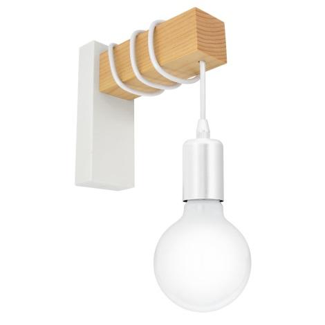 Eglo 33162 - Nástěnné svítidlo TOWNSHEND 1xE27/10W/230V