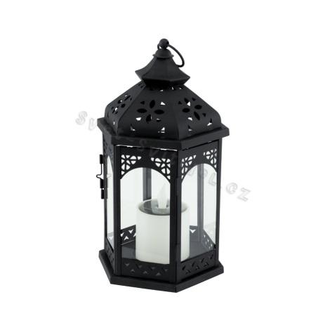 EGLO 47498 - Solární lampa 1xLED/0,06W černá