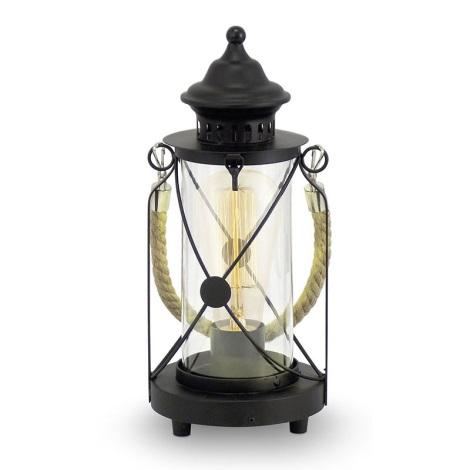 Eglo 49283 - Stolní lampa BRADFORD 1xE27/60W/230V