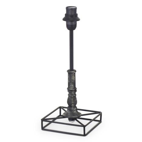 Eglo 49346 - Noha lampová VINTAGE 1xE14/40W/230V černá kov