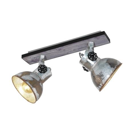 Eglo 49649 - Bodové svítidlo BARNSTAPLE 2xE27/40W/230V
