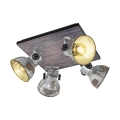 Eglo 49653 - Bodové svítidlo BARNSTAPLE 4xE27/40W/230V