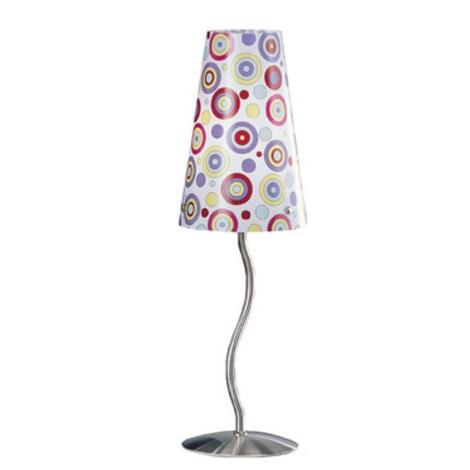 EGLO 50764 - Stolní lampa WAVY 1xE14/40W
