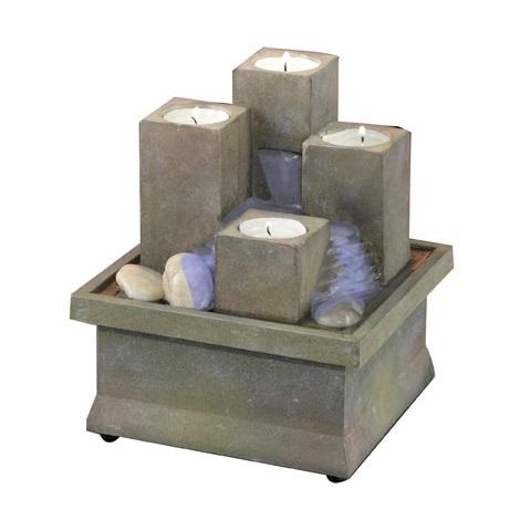 EGLO 51282 - Dekorační fontána se svíčkami