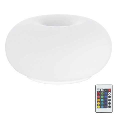 Eglo 75355 - LED RGB Stolní lampa OPTICA-C 2xE27/7,5W/230V