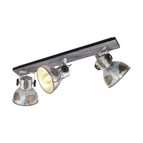 Eglo 79361 - Bodové svítidlo BARNSTAPLE 3xE27/40W/230V