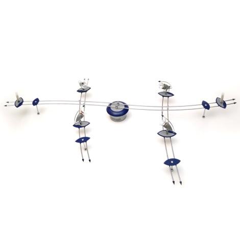 Eglo 80595 - Bodové svítidlo DRIVE 4xMR16/35W + 3xG4/20W