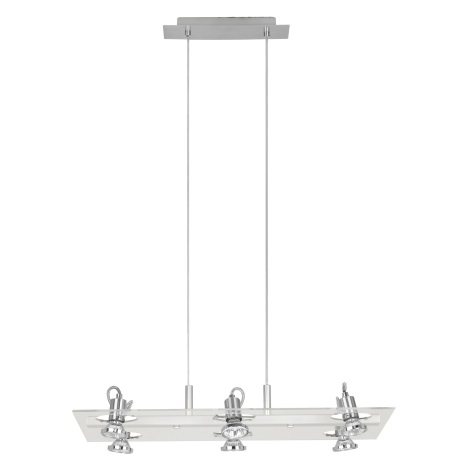 Eglo 82216 - Závěsné bodové svítidlo FOCUS 6xGU10/50W/230V