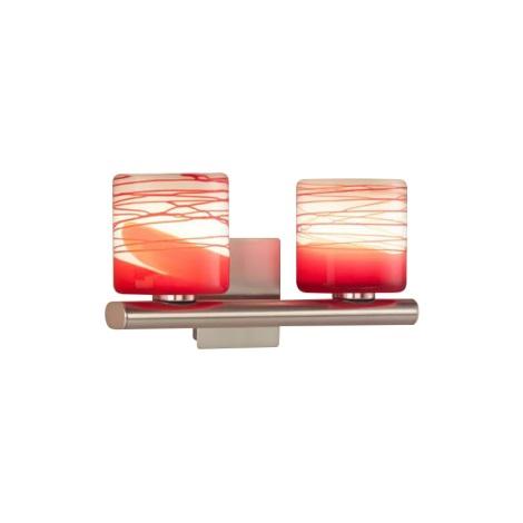 Eglo 87816 - Nástěnné svítidlo CORIA 2xG9/40W/230V