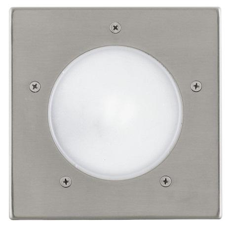 EGLO 88063 - Venkovní nájezdové svítidlo RIGA 3 1xE27/15W