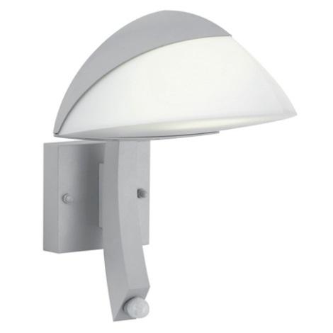 EGLO 88763 - Senzorové nástěnné svítidlo INSIDER 1xE27/22W stříbrná / bílá
