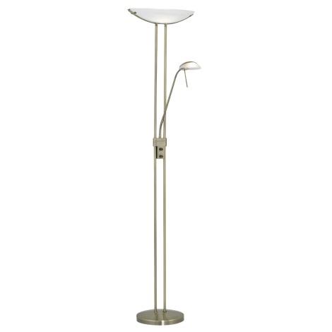 EGLO 90279 - Stojací lampa BAYA-SONIC stmívací + dálkový ovladač