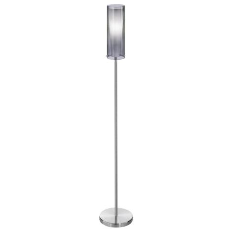 EGLO 90309 - Stojanová lampa PINTO NERO 1 x E27/60W kouřová