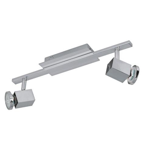 Eglo 93322 - LED bodové svítidlo ZABELLA 2xGU10-LED/5W/230V