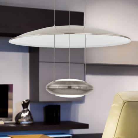 Eglo 93912 - LED závěsné svítidlo LEMOS 2xLED/7,8W/230V