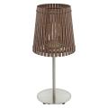 Eglo 96203 - Stolní lampa SENDERO 1xE27/60W/230V