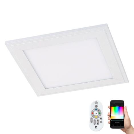 Eglo 96662 - LED Stropní svítidlo SALOBRENA-C LED/16W/230V + dálkové ovládání