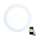 Eglo 96668 - LED RGB Stmívatelné podhledové svítidlo FUEVA-C LED/15,6W/230V