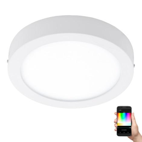 Eglo 96671 - LED RGB Stmívatelné stropní svítidlo FUEVA-C LED/21W/230V