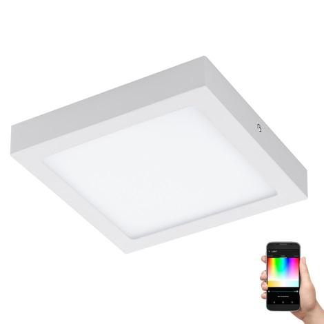 Eglo 96672 - LED RGB Stmívatelné stropní svítidlo FUEVA-C LED/15,6W/230V