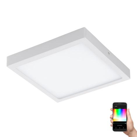 Eglo 96673 - LED RGB Stmívatelné stropní svítidlo FUEVA-C LED/21W/230V