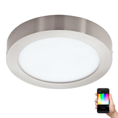 Eglo 96677 - LED RGB Stmívatelné stropní svítidlo FUEVA-C LED/15,6W/230V