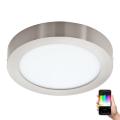 Eglo 96678 - LED RGB Stmívatelné stropní svítidlo FUEVA-C LED/21W/230V