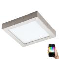 Eglo 96679 - LED RGB Stmívatelné stropní svítidlo FUEVA-C LED/15,6W/230V