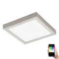Eglo 96681 - LED RGB Stmívatelné stropní svítidlo FUEVA-C LED/21W/230V